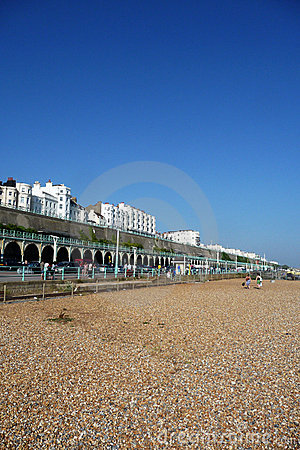 De Strandboulevard van Brighton