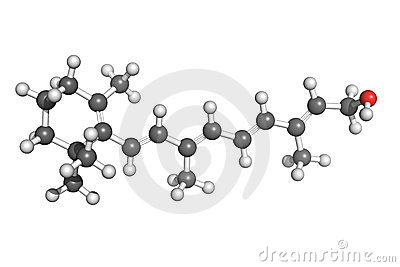 De structuur van de vitamine A