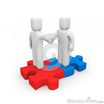 De succesvolle overeenkomst