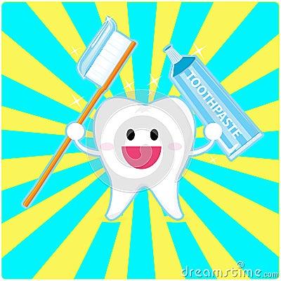 De tand van Smiley
