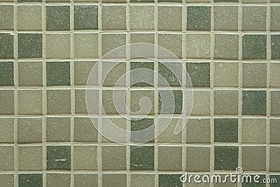 De tegels van de badkamers