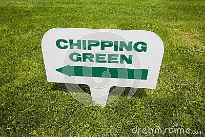 De Tekens van de Cursus van het golf