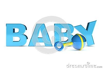 De Tekst van de Jongen van de baby