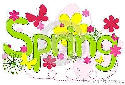 De Tekst van de lente
