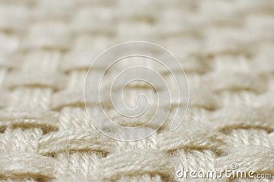 De textuur van de het weefselstof van de wol