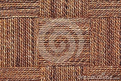 De textuur van de kabel