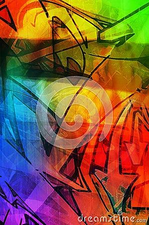 De textuur van de kleur
