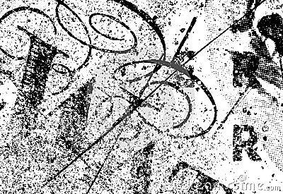 De Textuur van Grunge