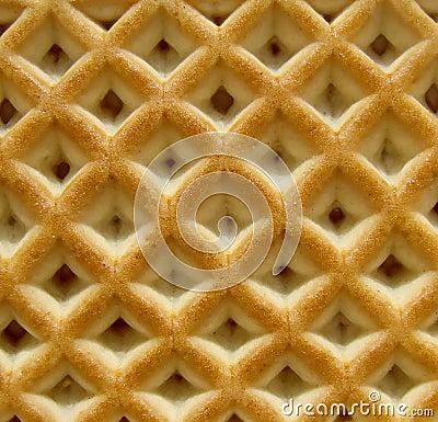 De textuur van het koekje