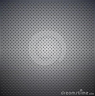 De textuur van het metaal