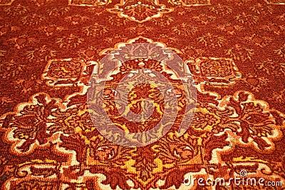 De textuur van het tapijt