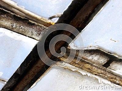 De Textuur van het venster