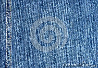 De textuur van jeans met steek
