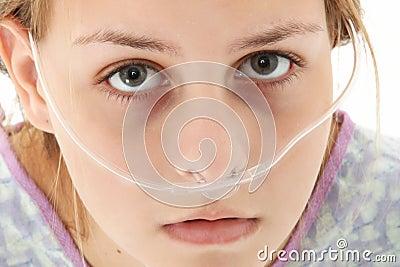 De Tiener van het ziekenhuis