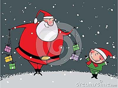 De tijd van Kerstmis