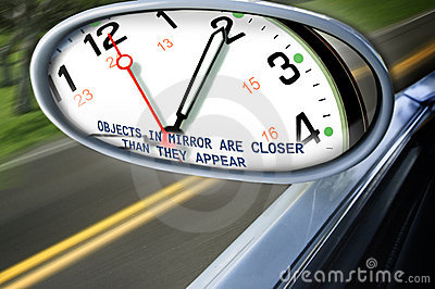 De tijd wint terrein