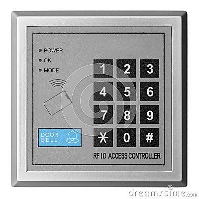 De toegangscontrolemechanisme van de deur