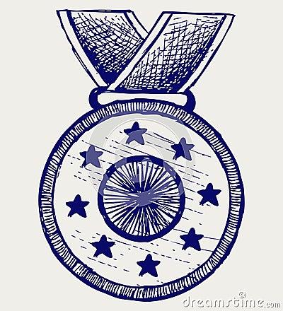 De toekenning van de medaille