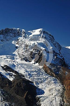 De top van Breithorn