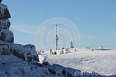 De top van Felberg