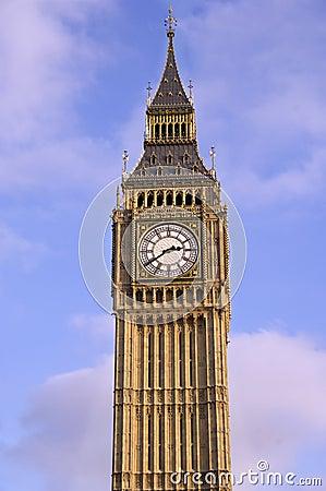 De toren van de Big Ben
