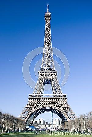 De toren van Eiffel
