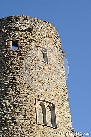 De toren van het kasteel
