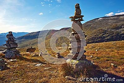 De torens van de steen