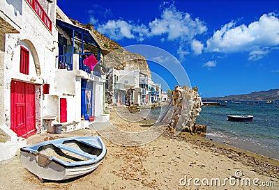 De traditionele reeks van Griekenland