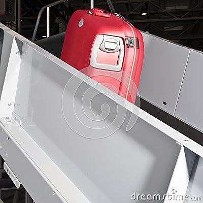 De transportband van de bagage
