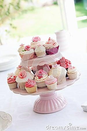De tribune van Cupcake