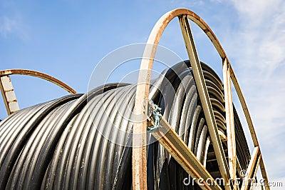 De trommel van de kabel