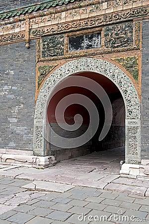 De tunnel van de steen