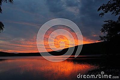 De uitbarsting van de zon