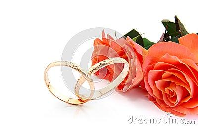 De uitnodigingskaart van het huwelijk
