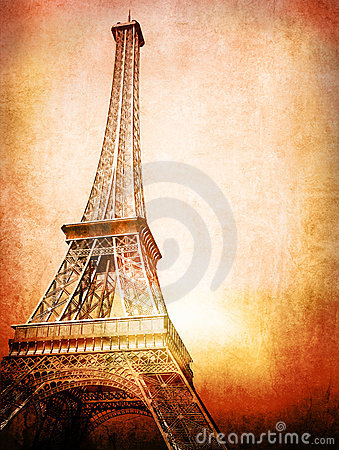 De uitstekende kaart van Eiffel