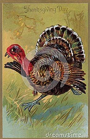 De uitstekende kaart van Thanksgiving day