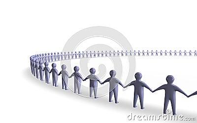 De unie van mensen