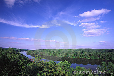 De Vallei van de Rivier van de rots - Illinois