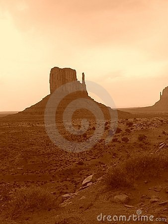 De Vallei van het monument