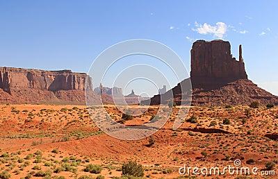 De Vallei van het monument, Utah, de V.S.