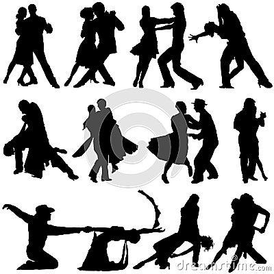 De vector van de dans