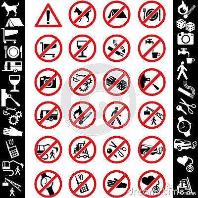 De veiligheid van pictogrammen
