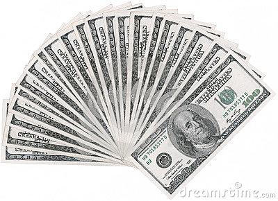 De ventilator van de dollar