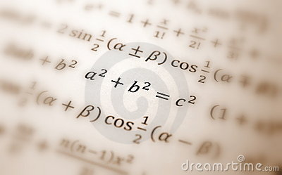 De vergelijking van Pythagoras