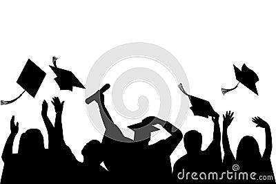 De Viering van de graduatie/eps