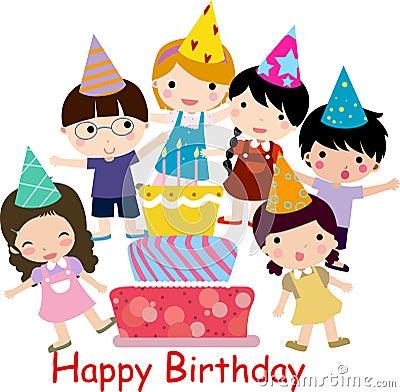 De viering van de verjaardag