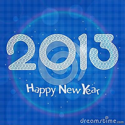 De vieringskaart van 2013