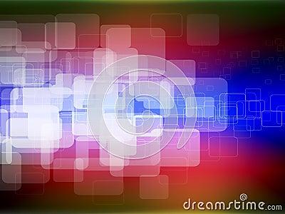 De vierkanten van de kleur