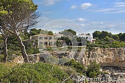 De villa van de vakantie in Majorca